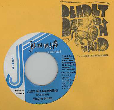 Wayne Smith - Aint No Meaning