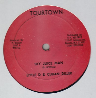 Little D & Cuban Diller - Sky Juice Man