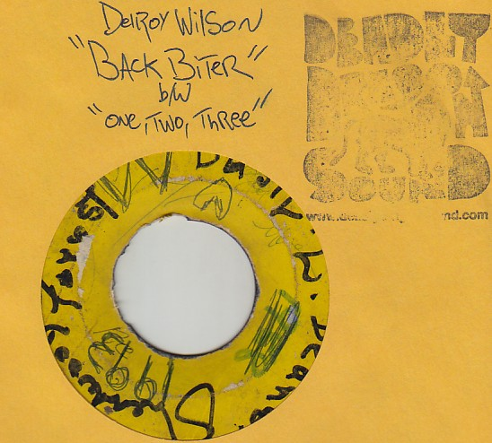 Delroy Wilson - One Two Three / Back Biter