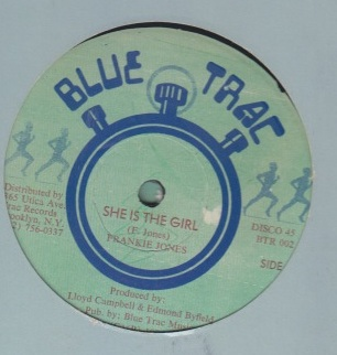 Frankie Jones / Frankie Paul - She is the Girl / Chatte Chatte