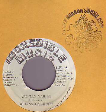 Johnny Osbourne - Afe Tan Yah So