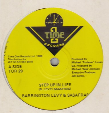 Barrington Levy & Sassafrass - Step Up In Life
