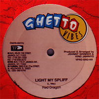Red Dragon / Beenie Man - Light My Spliff / Praise Him