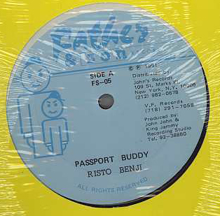Risto Benjie - Passport Buddy