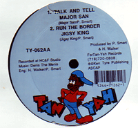 Jigsy King / Wayne Wonder - Run The Border / Take You To A Place