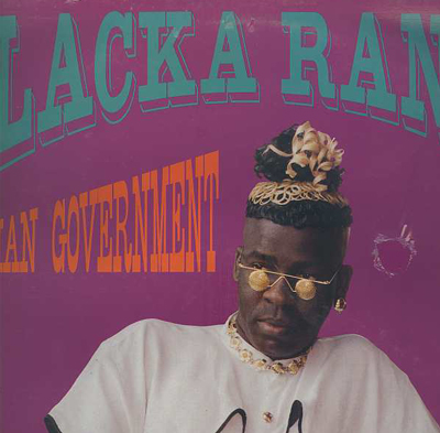 Blacka Ranks / Sugar Minott - No Man Government / Rapid