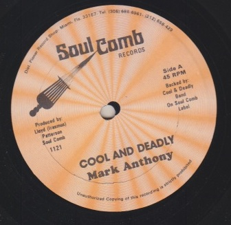Mark Anthony - Cool & Deadly